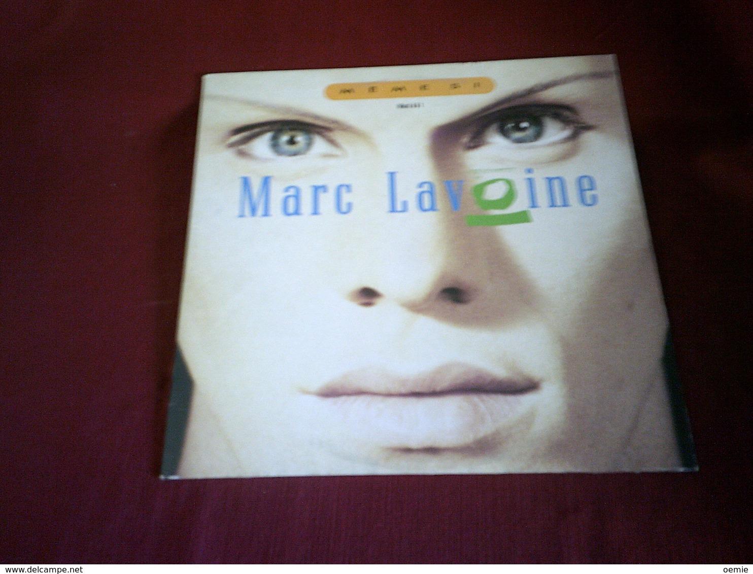 MARC LAVOINE  °  MEME SI - 45 T - Maxi-Single
