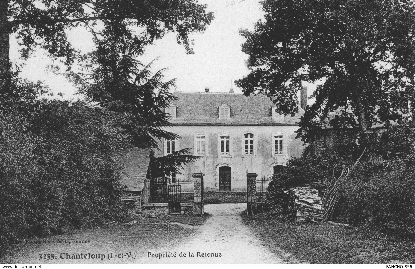 Chanteloup (35) - Propriété De La Retenue. - Francia