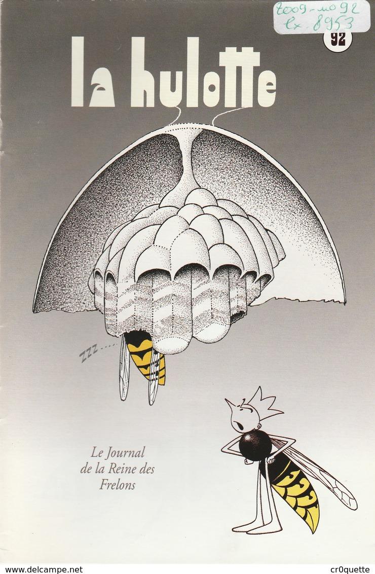 LA HULOTTE DES ARDENNES N° 92 / LE FRELON - Animals