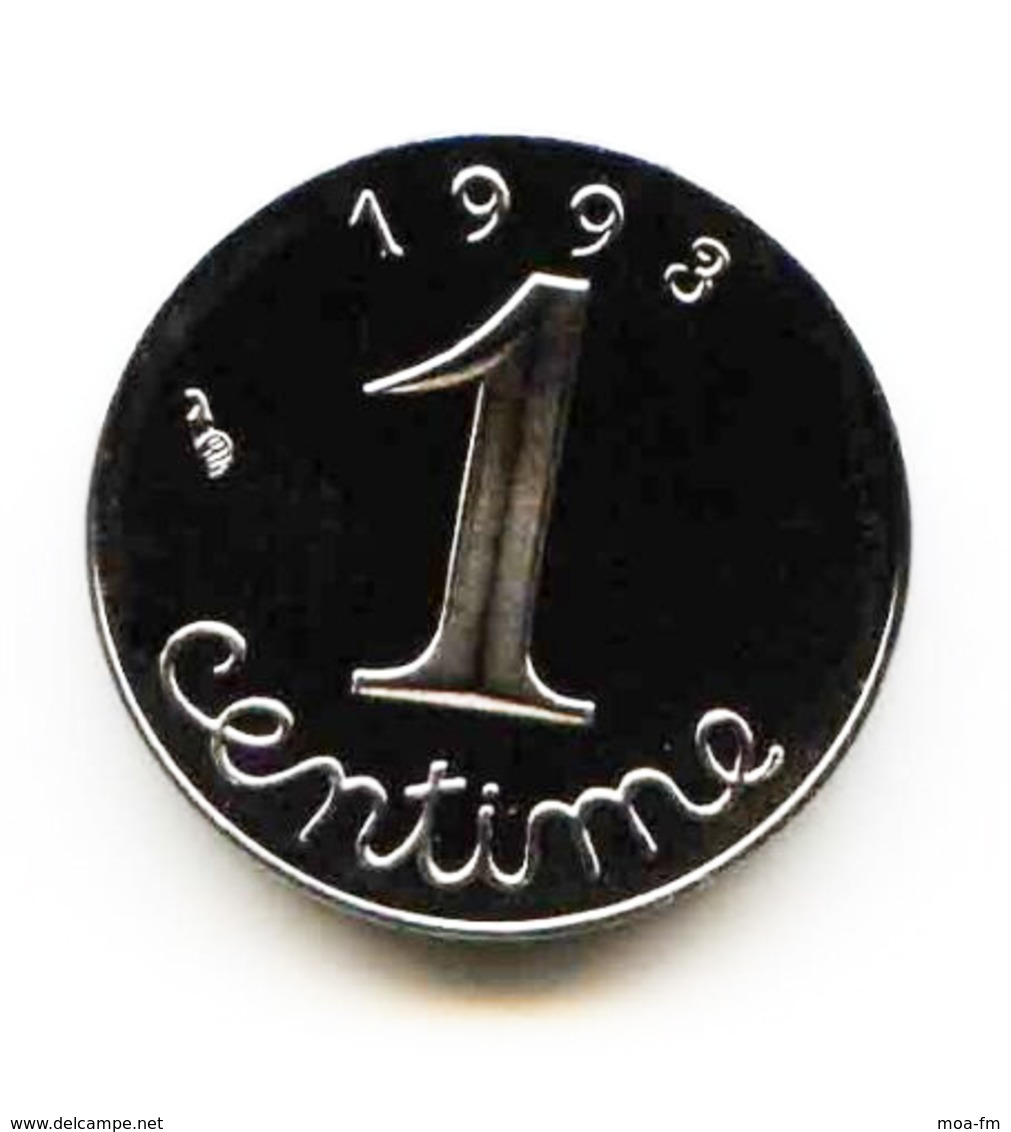 1 Centime Epi 1993 Issue D'un Coffret Belle Epreuve - A. 1 Centime