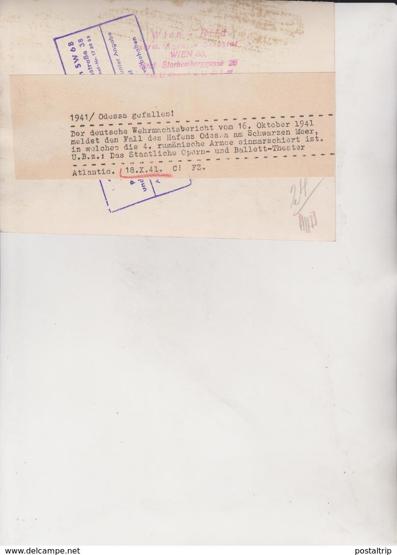 ODESSA RUSSIA HAFEN  KAUKASUS FOTO DE PRESSE WW2 WWII WORLD WAR 2 WELTKRIEG Aleman Deutchland - Lugares
