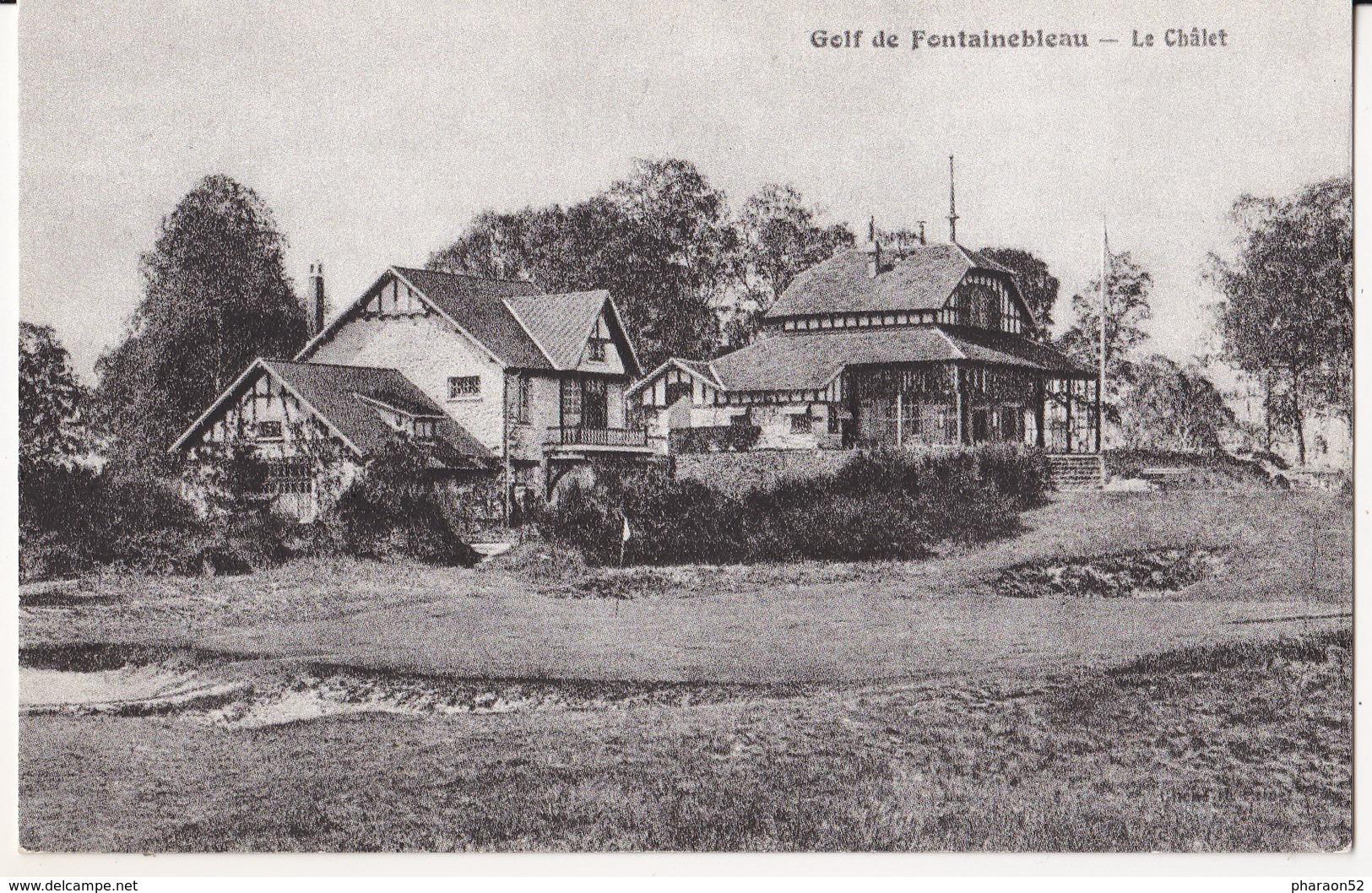 Golf De Fontainebleau- Le Chalet-2 Scan - Fontainebleau