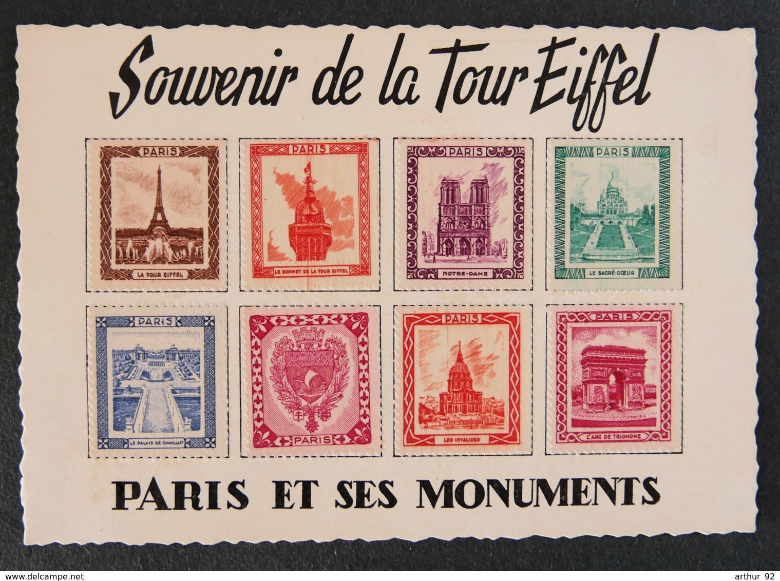 FRANCE - Souvenir De La Tour Eiffel - Paris Et Ses Monuments - Other