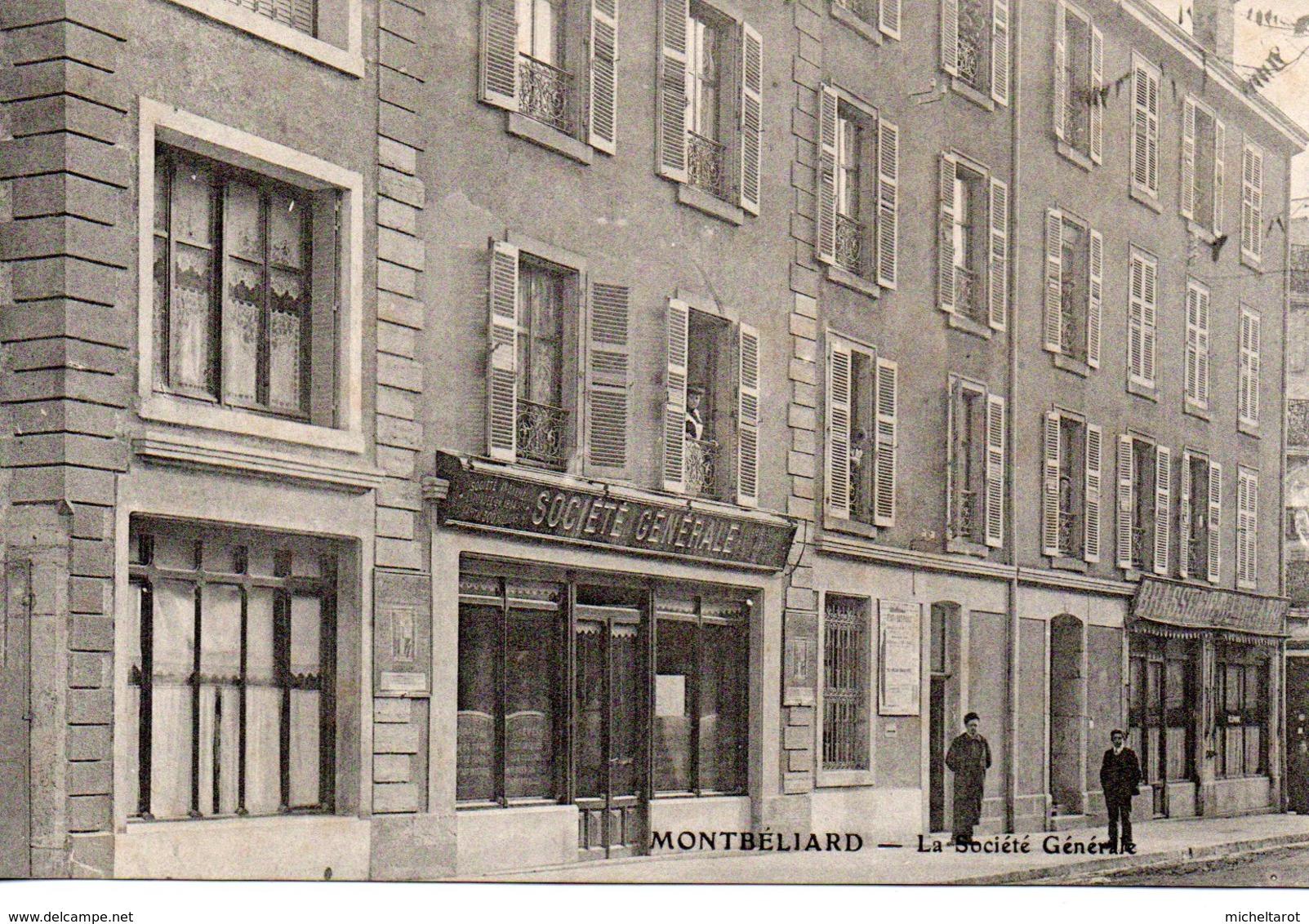 Doubs : Montbéliard : Banque : Sociétè Générale - Montbéliard