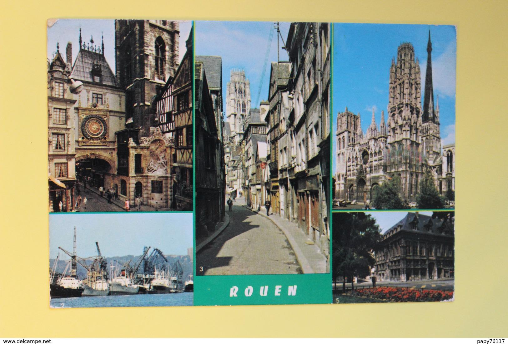 CPM 76   ROUEN MULTIVUES - Rouen