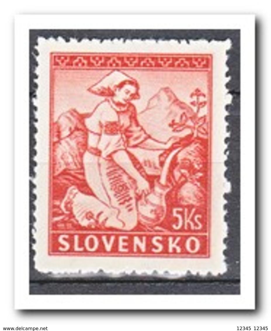 Slowakije 1939, Postfris MNH, Costums, L12,5 - Slovakia