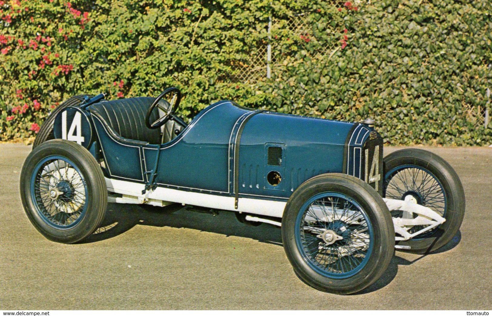 Peugeot Indianapolis Race Car   -  1913  -  Carte Postale - IndyCar