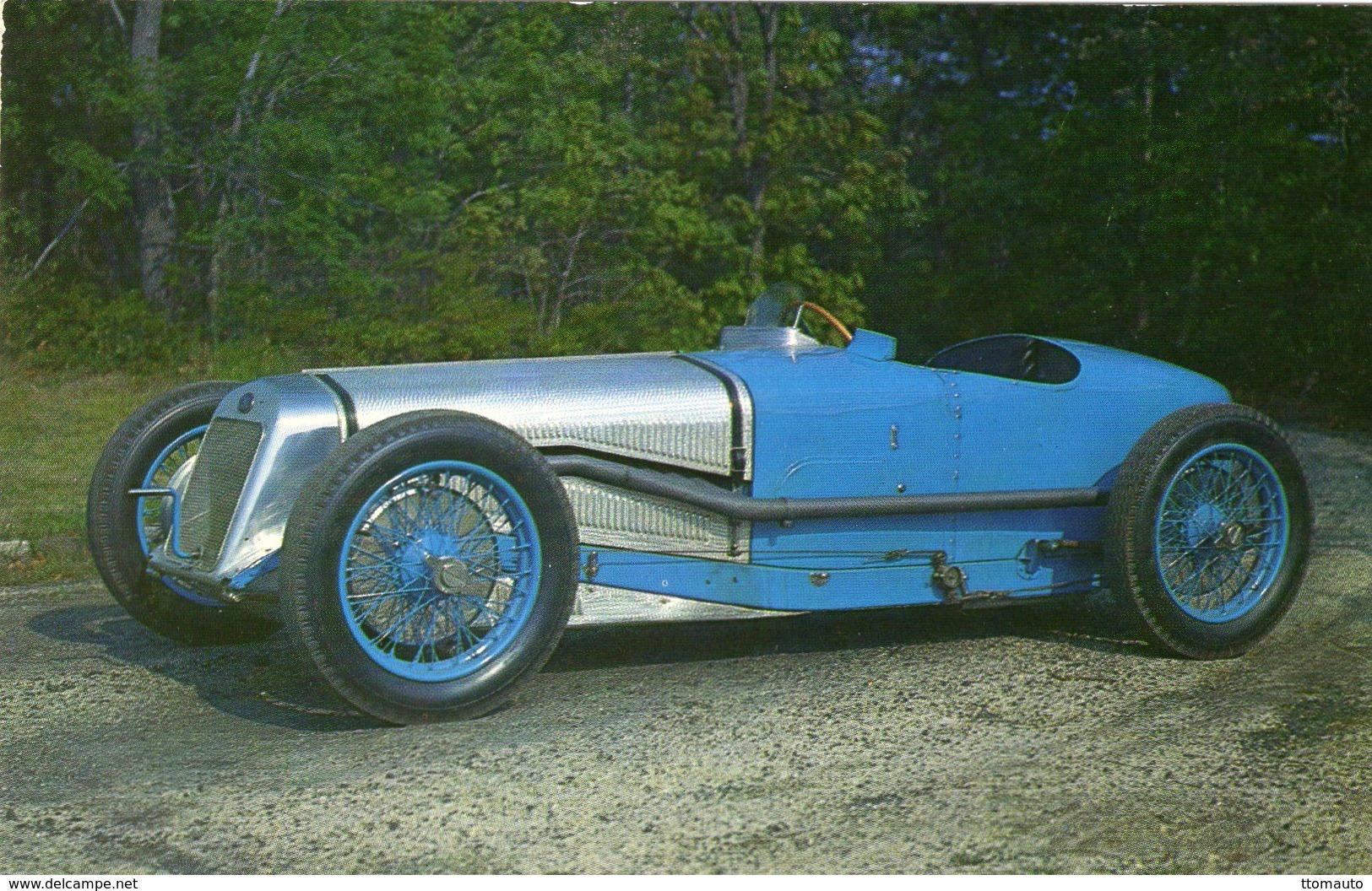 Delage Grand Prix Race Car -  1927  -  Carte Postale - Grand Prix / F1