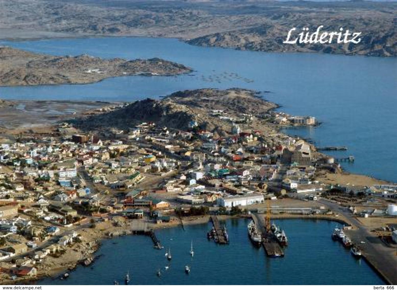 Namibia Luederitz Aerial View New Postcard - Namibie
