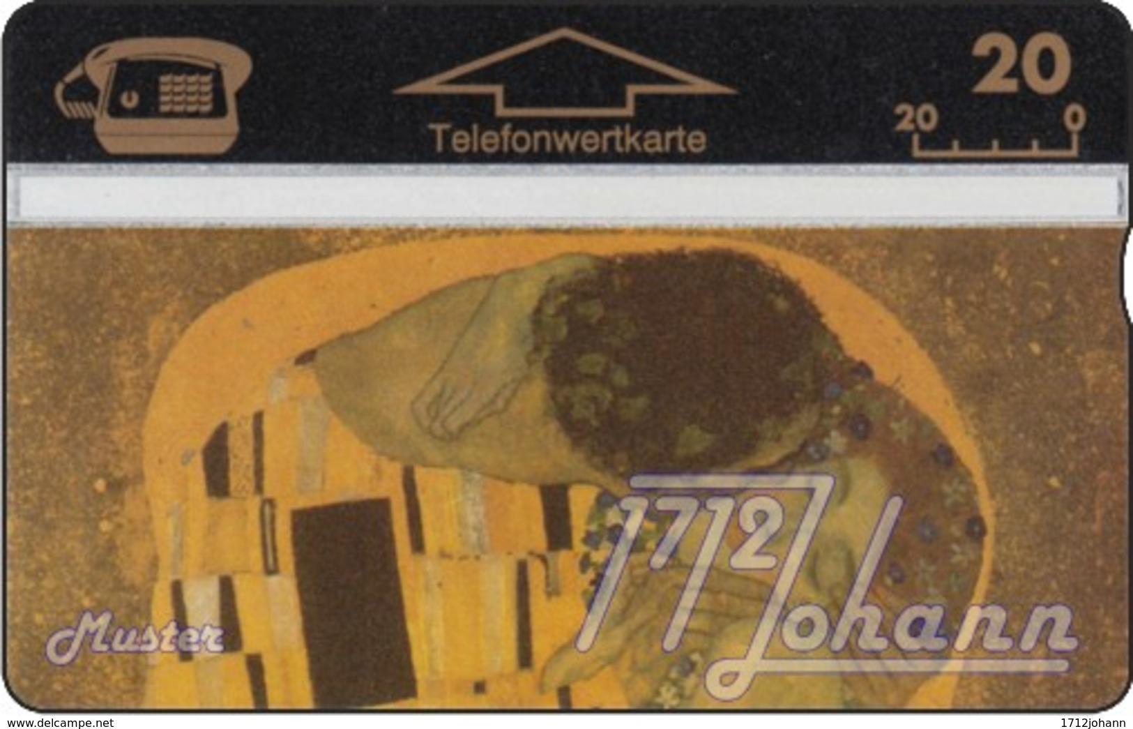 """TWK Österreich Privat: """"Klimt - Der Kuss"""" Gebr. - Oesterreich"""