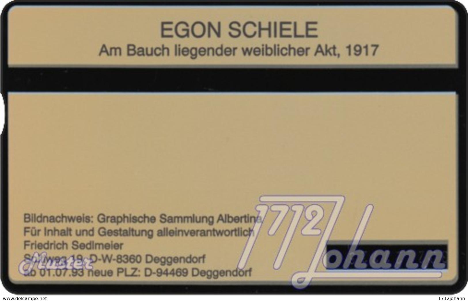"""TWK Österreich Privat: """"Egon Schiele - Liegender Akt"""" Gebr. - Oesterreich"""