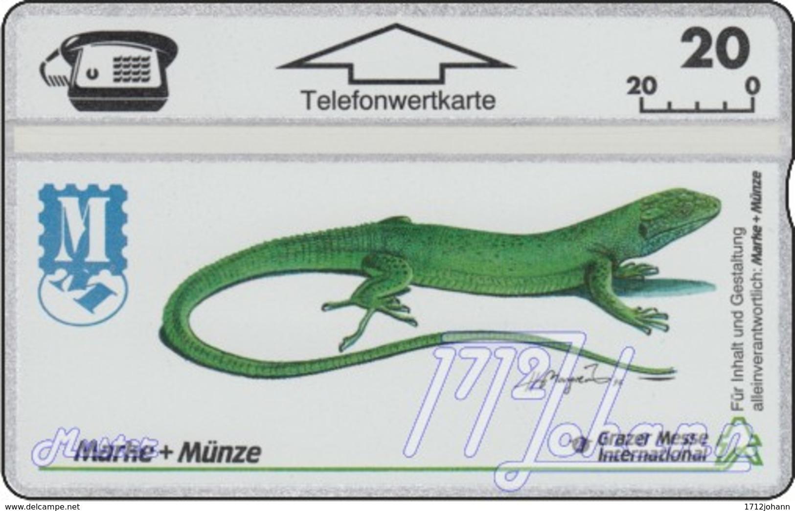 """TWK Österreich Privat: """"Marke+Münze Graz '93"""" Gebr. - Oesterreich"""