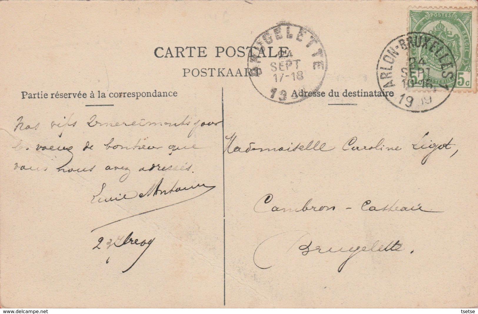 Freux - Ecole Communale - 1919 ( Voir Verso ) - Libramont-Chevigny