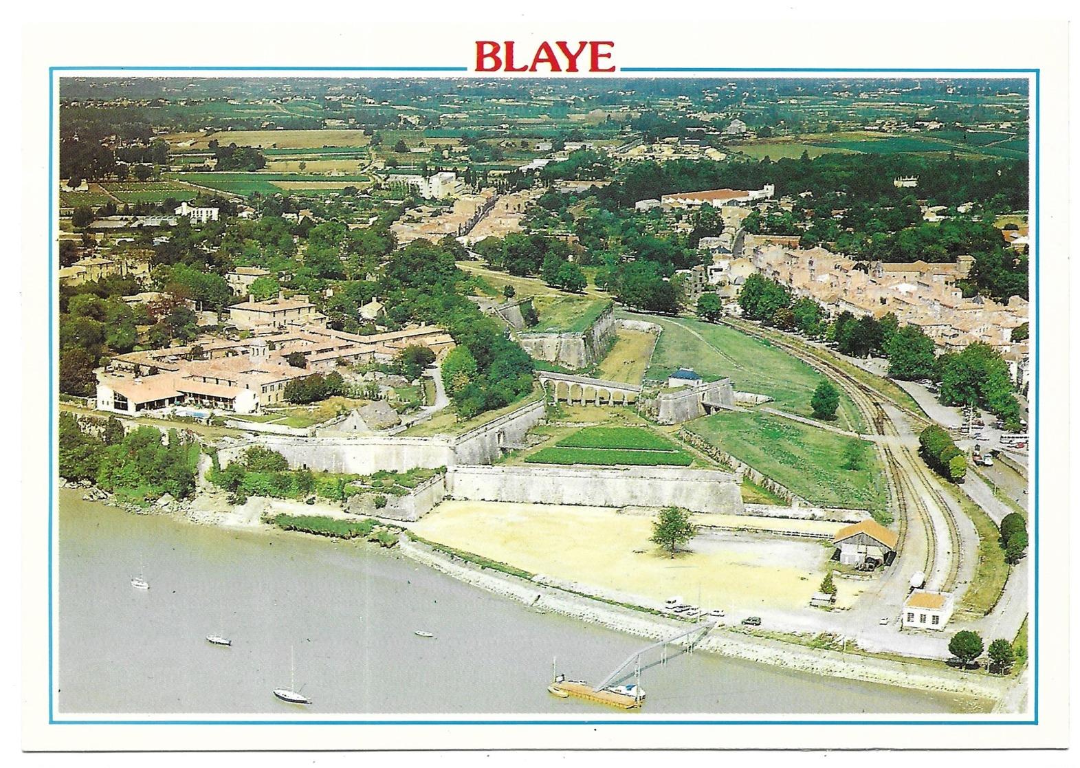 Blaye Vue De La Citadelle - Blaye