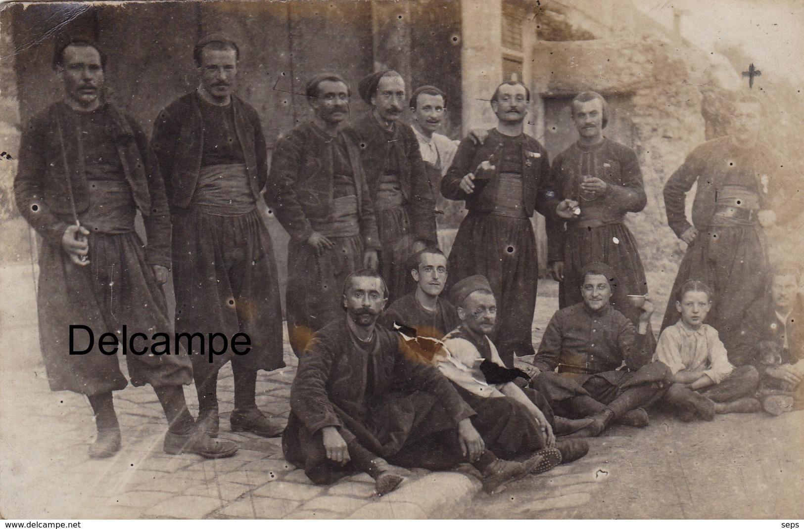 CP Photo D'un Zouave à Sa Marraine De Guerre - 1ère Guerre - War, Military