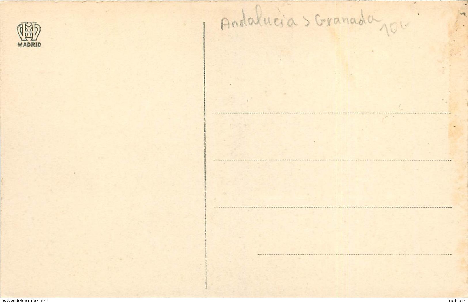 TIPOS GRANADINOS - Un Aguador. - Granada