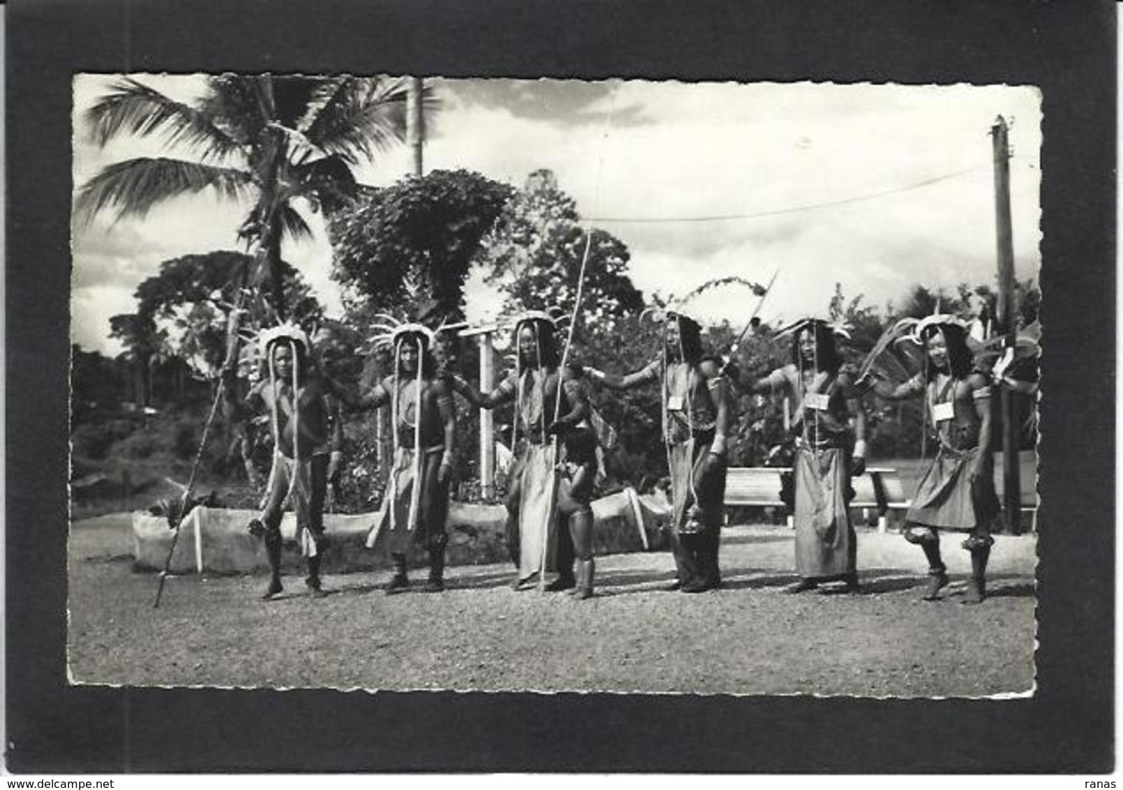 CPSM Guyane écrite Voir Scan Du Dos Ethnic Indiens - Cayenne