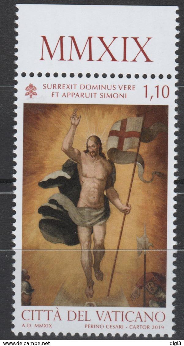 Vaticano, 2019, Pasqua, Resurrezione Di Cristo, 1,10 Euro, Nuovo - Unused Stamps