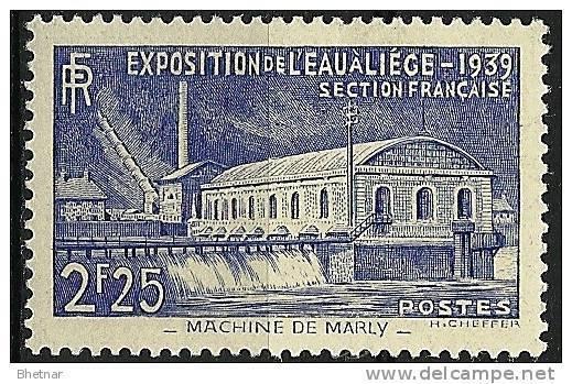 """FR YT 430 """" Exposition De L'eau à Liège """" 1939 Neuf* - France"""