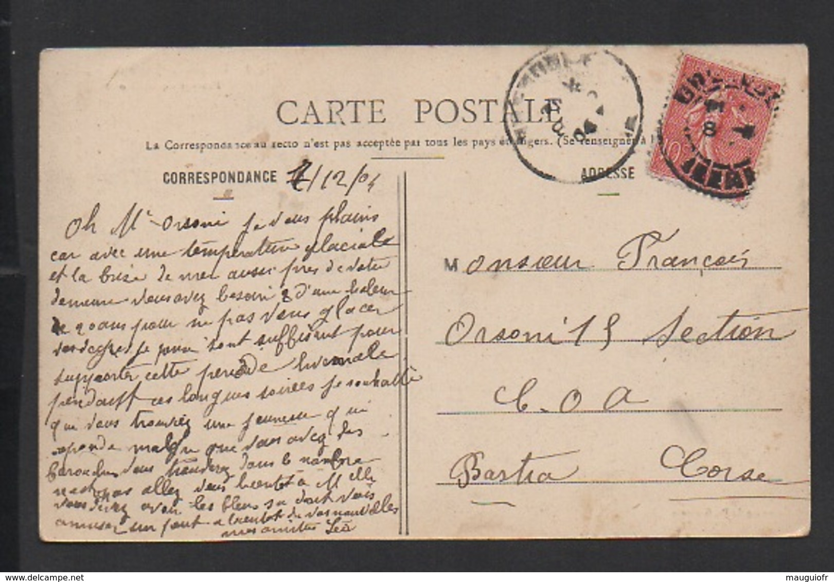 DD / CHEMINS DE FER / DAUPHINÉ - LIGNE DE LA MÛRE / PASSAGE DE LA RIVOIRE / 1904 - Ouvrages D'Art