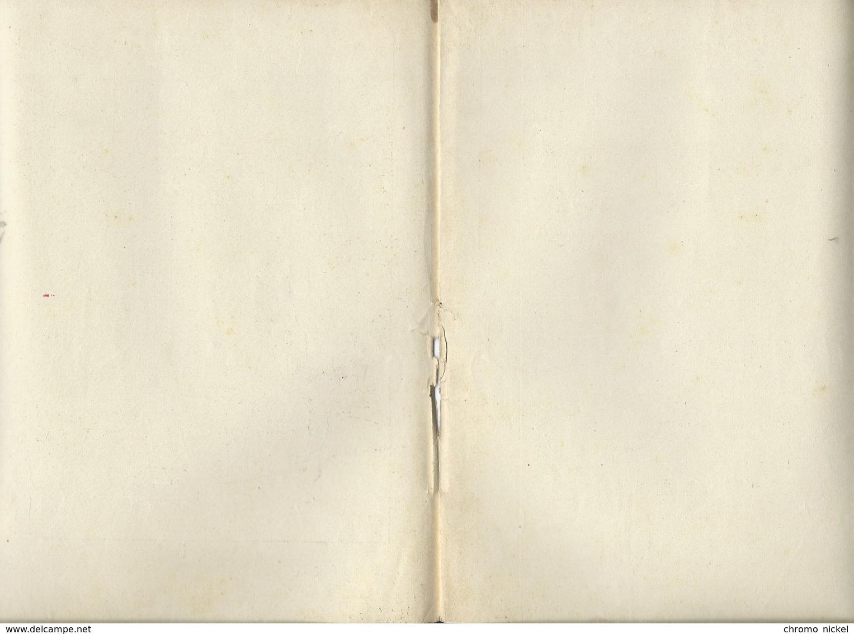 LA MÈRE MICHEL Chanson Paroles Chat A.Bien Protège-cahier Couverture GODCHAUX 225 X 170  3 Scans - Protège-cahiers