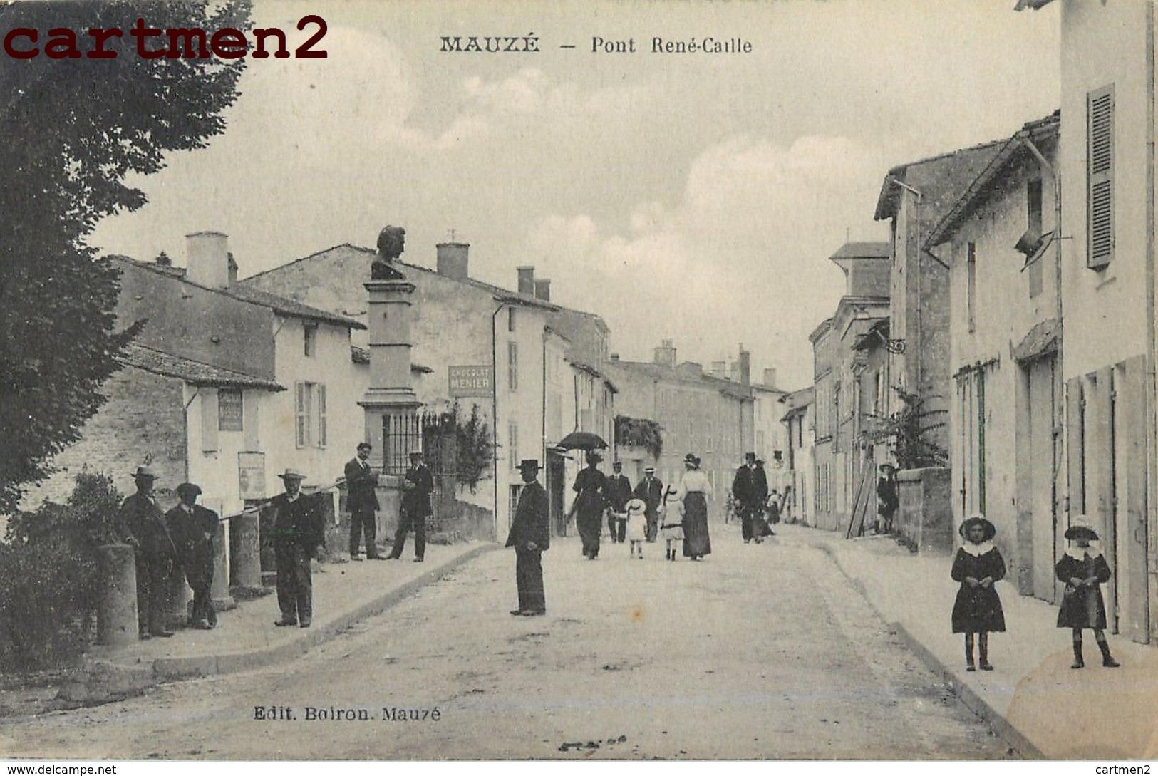 MAUZE PONT RENE-CAILLE ANIMEE 79 DEUX-SEVRES - Mauze Sur Le Mignon