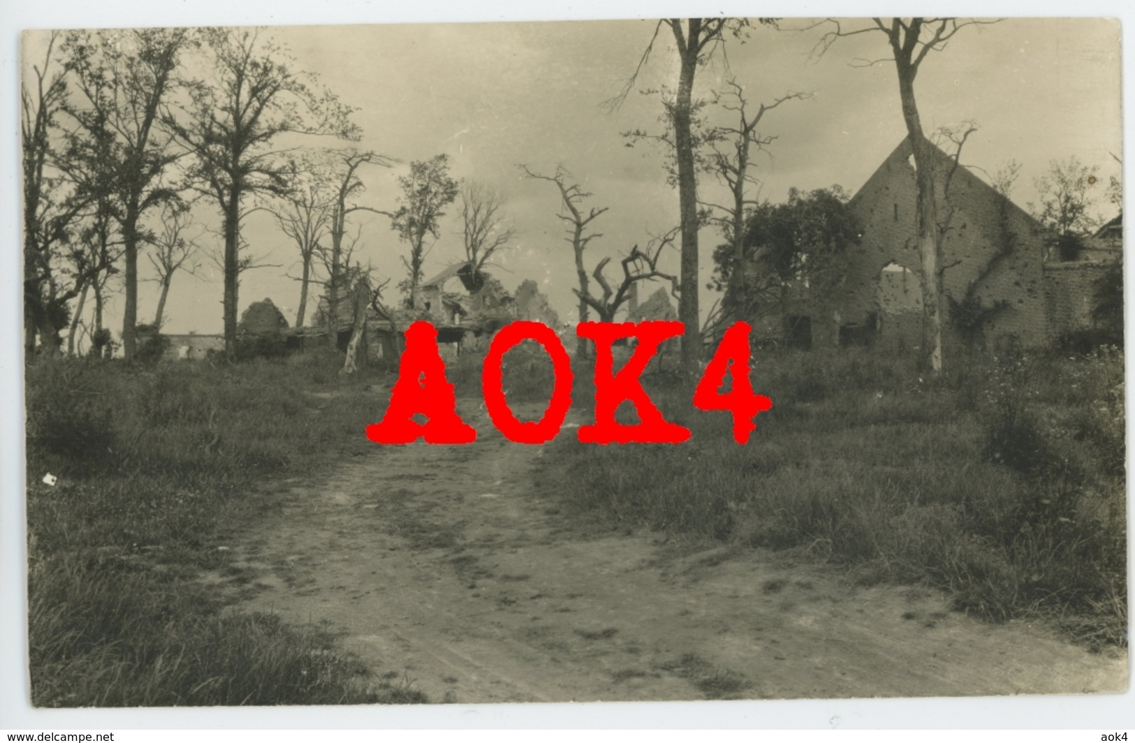 62 Arras FERME ST. SERVINS Haucourt Dury Cagnicourt Nordfrankreich Artois 1917 1918 - Autres Communes