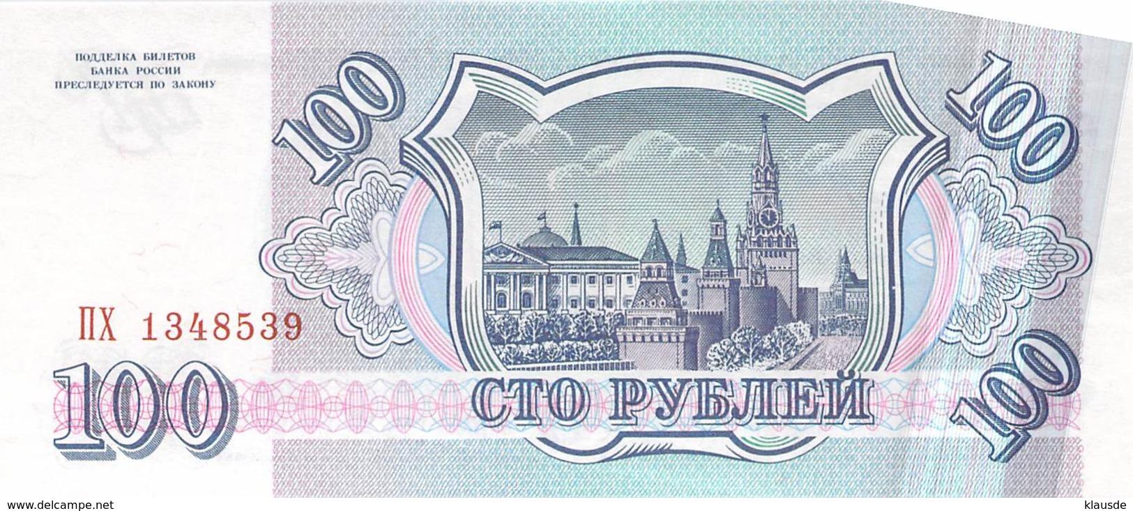 100 Rubel Rußland 1993 - Russland