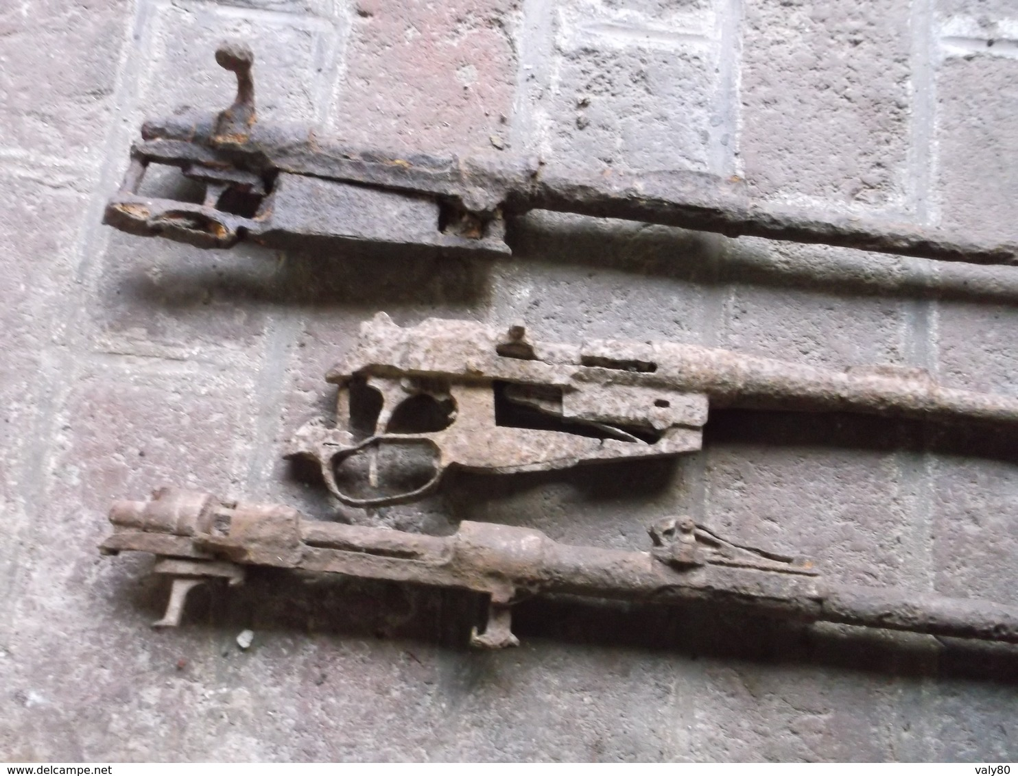 Lot épaves Fusils De Fouille. - 1914-18