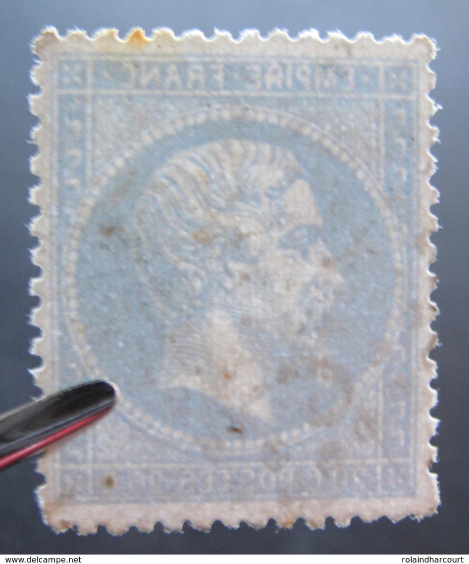 R1917/41 - NAPOLEON III N°22 - LGC - VARIETE ➤➤➤ R De REPUB Barré - 1862 Napoleon III