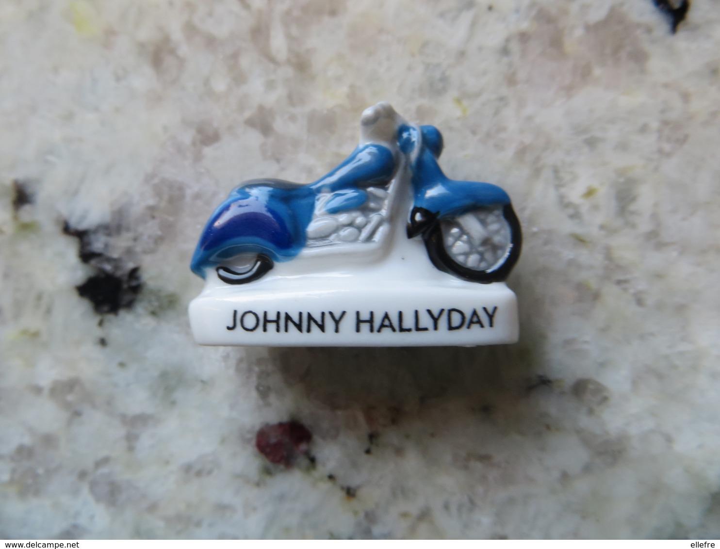 Fève 2019 Série Born Rocker Musicinc - Johnny Hallyday La Moto Harley Davidson - Personaggi