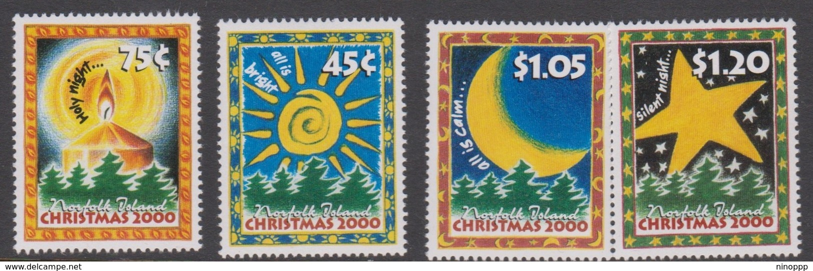 Norfolk Island ASC 726-729 2000 Christmas, Mint Never Hinged - Norfolk Island