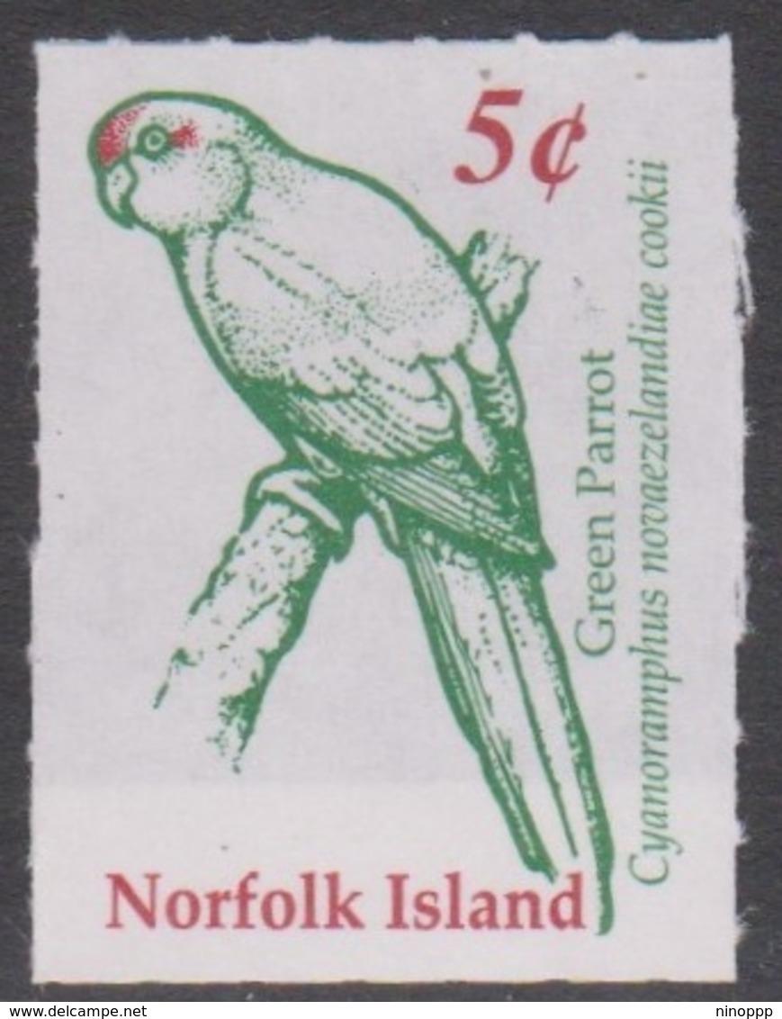 Norfolk Island ASC 734 2001 Green Parrot Ex Booklet, Mint Never Hinged - Norfolk Island