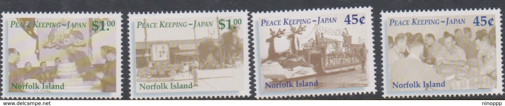 Norfolk Island ASC 760-763 2001 Peacekeeping Forces, Mint Never Hinged - Norfolk Island