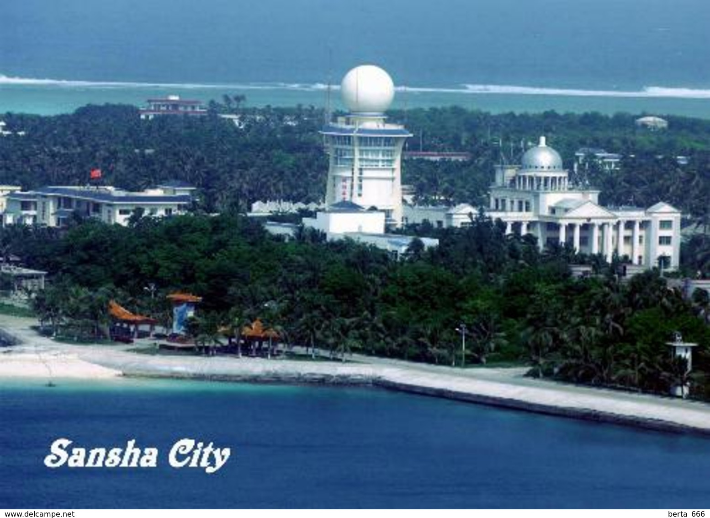 Paracel Islands Woody Island Sansha City New Postcard - China