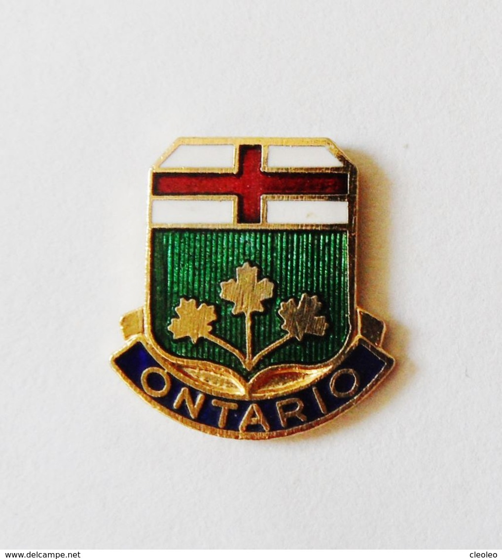 Pin's BLASON Ontario - Villes