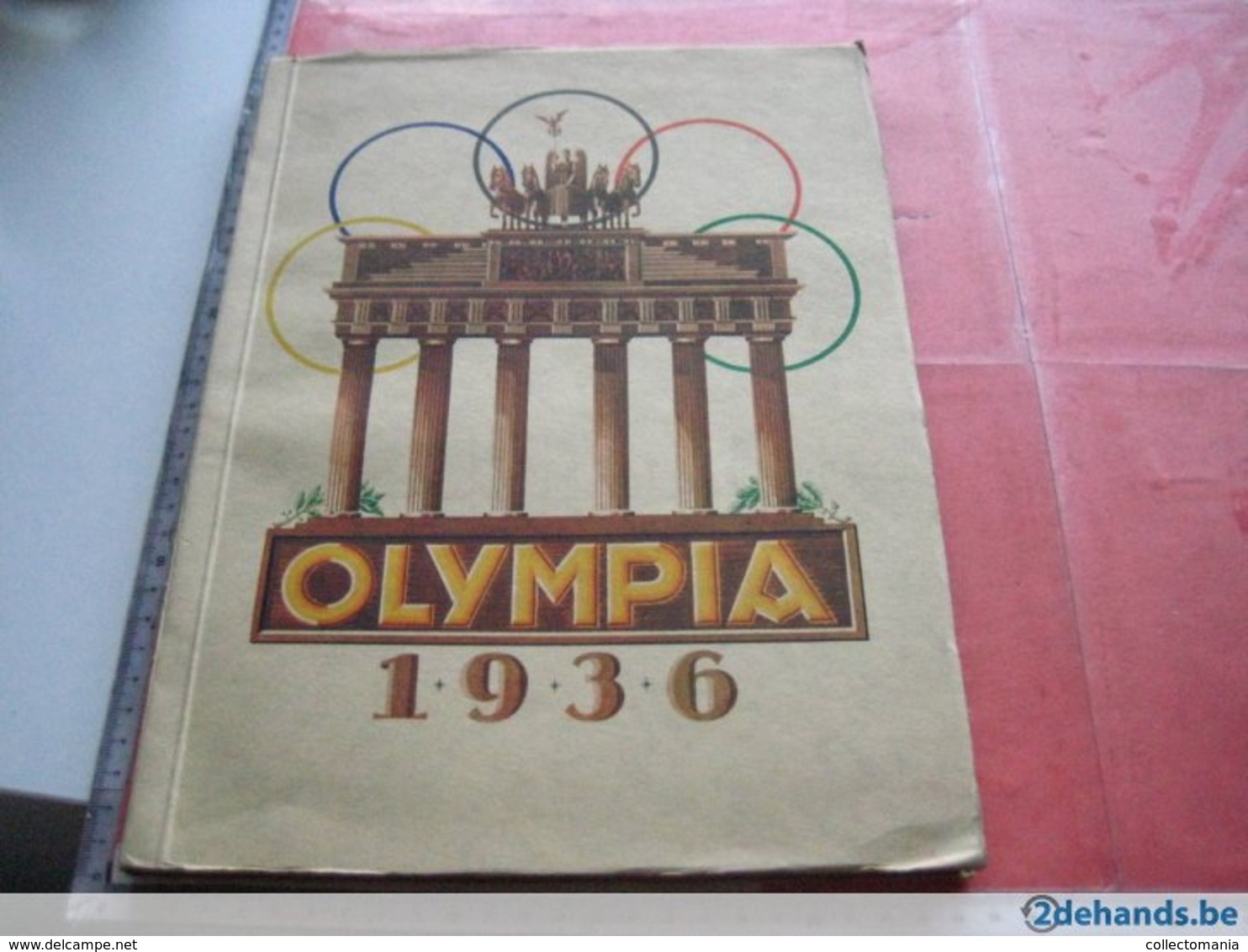 9 Complete , Chromo Albums,  Very Good Condition, From The Fifties And Thirtoes  : Congo, Disney, Olympic Games 1936 - Other