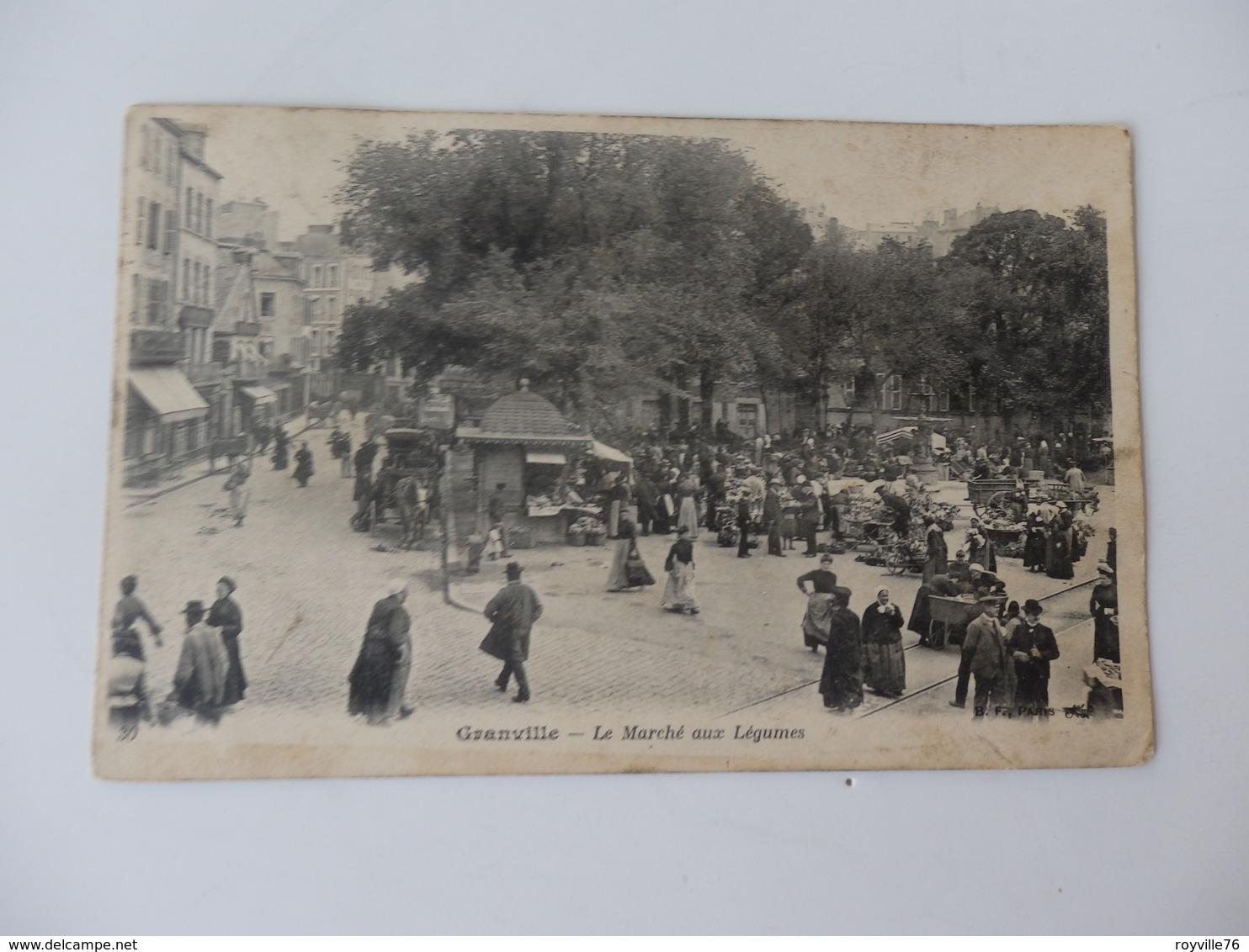 Granville, Le Marché Aux Légumes. - Granville