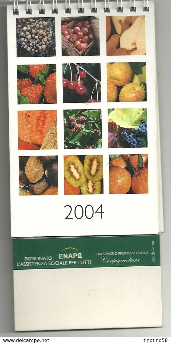 CALENDARIO  PIANTE  FRUTTA  FRUTTI  2004 - Calendari