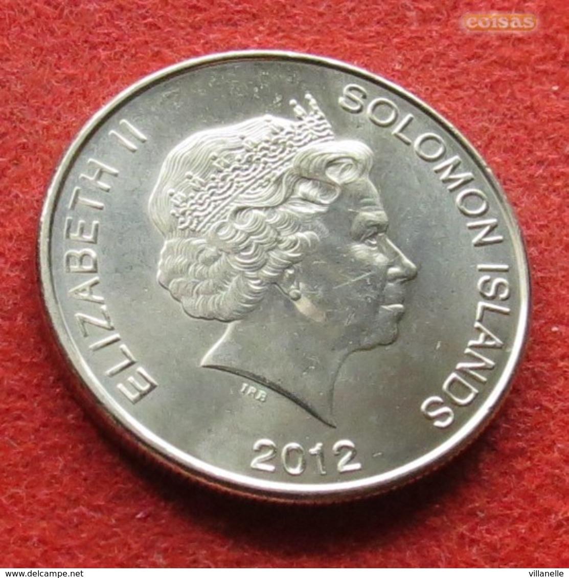 Solomon Islands 50 Cents 2012 Salomon Salomão - Salomonen