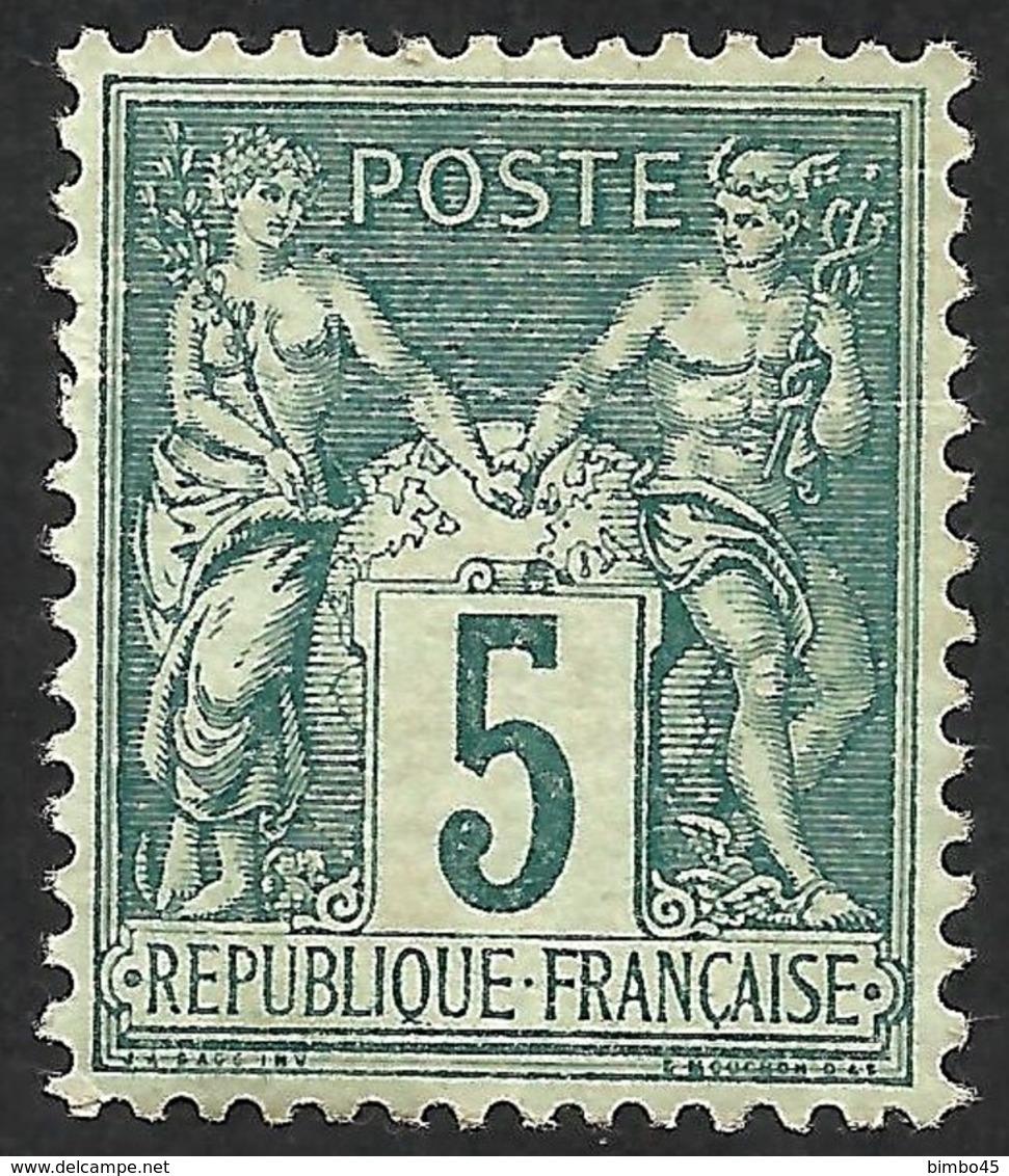 FRANCE--SAGE-- MNH--TYPE II - 1876-1898 Sage (Tipo II)