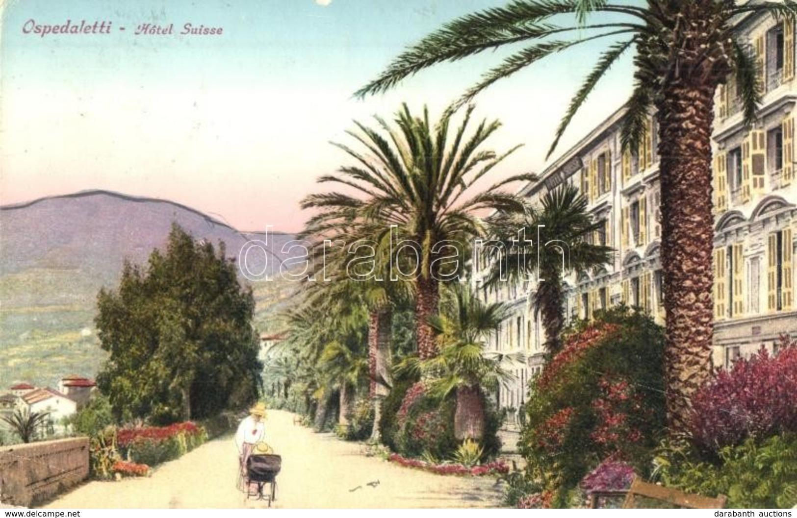 T2/T3 Ospedaletti, Hotel Suisse  (EK) - Cartes Postales