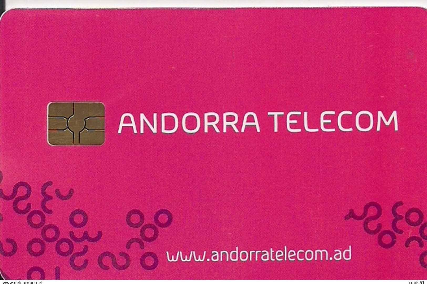TARJETA ANDORRA - Tarjetas Telefónicas