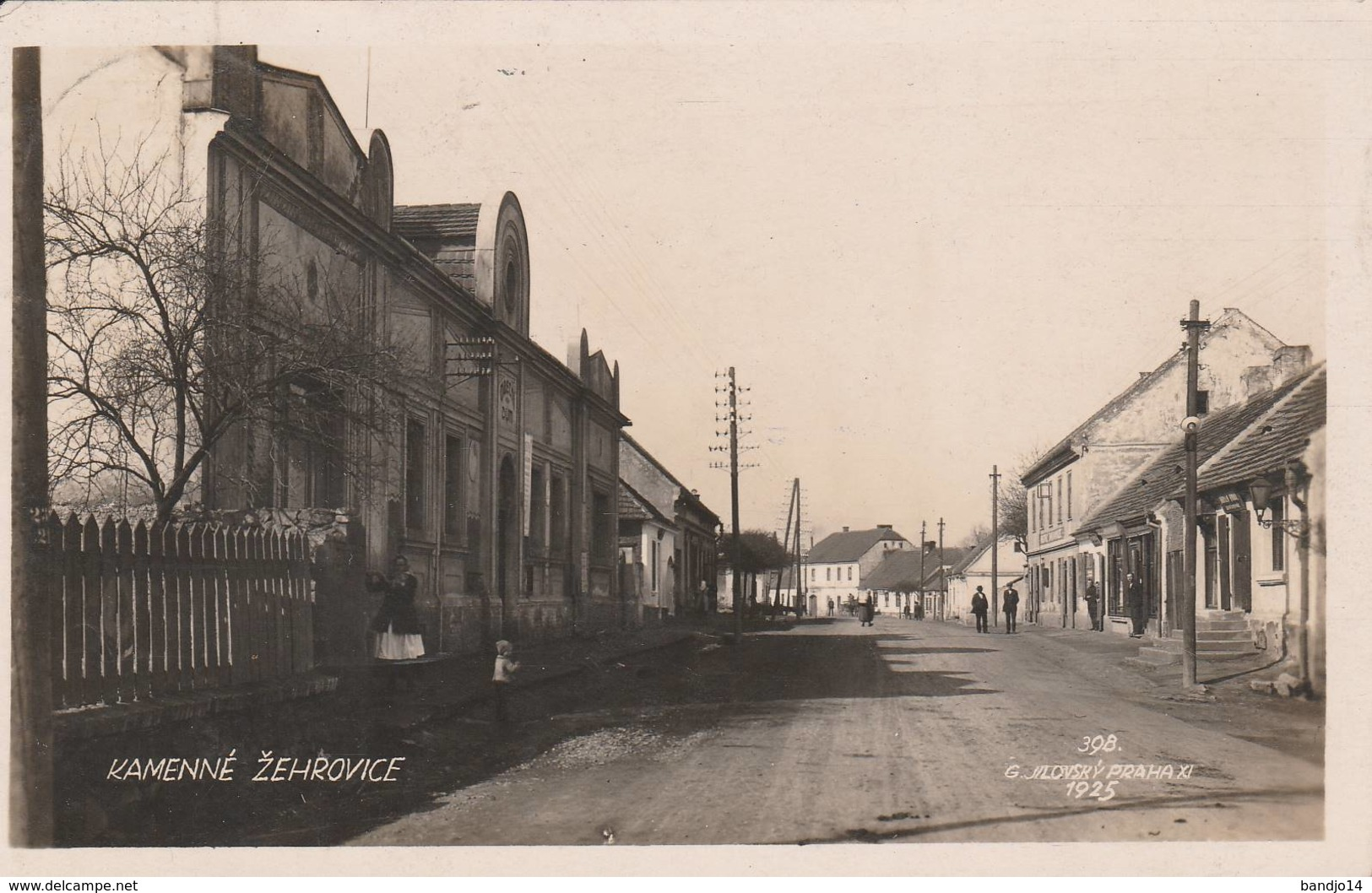 Kamenné Zehrovice - 1925 - - República Checa