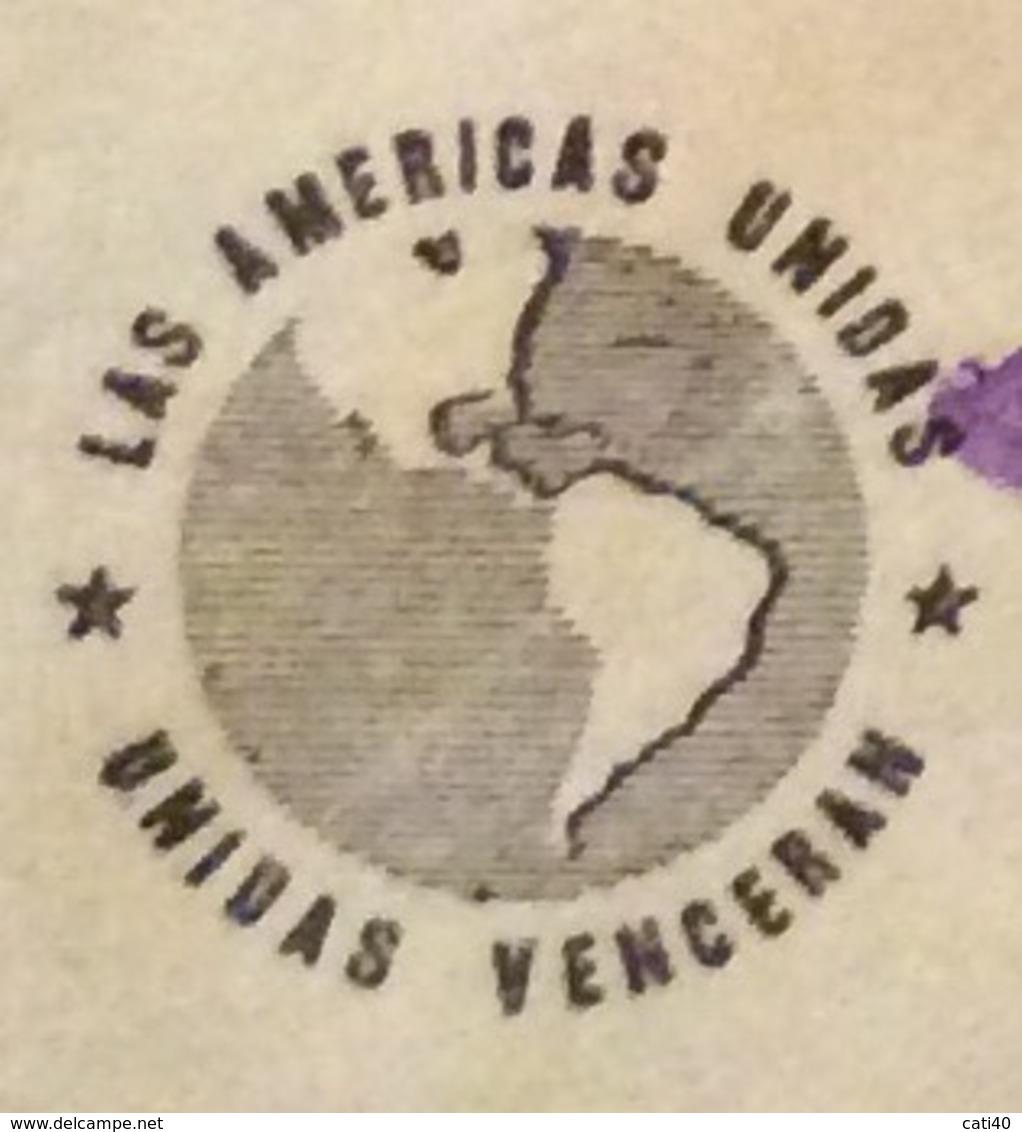 POSTA AEREA  PAR AVION  HONDURAS  U.S.A  FROM SAN PEDRO SULA   TO CHICAGO   THE   27/11/42 - Honduras