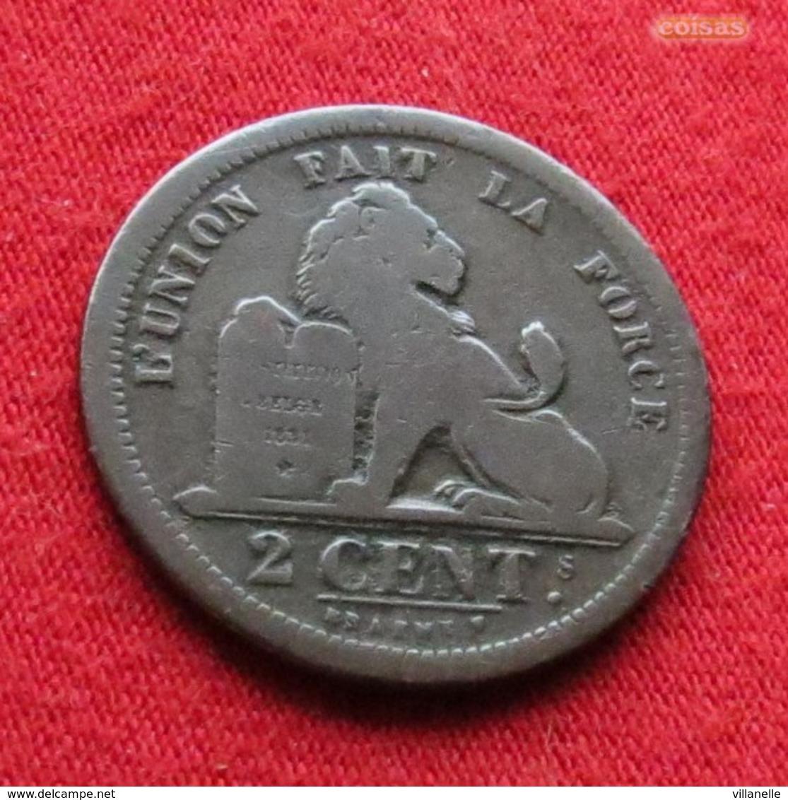 Belgium 2 Centimes 1835 Des Belges  Belgie Belgica Belges Belgique - Belgique