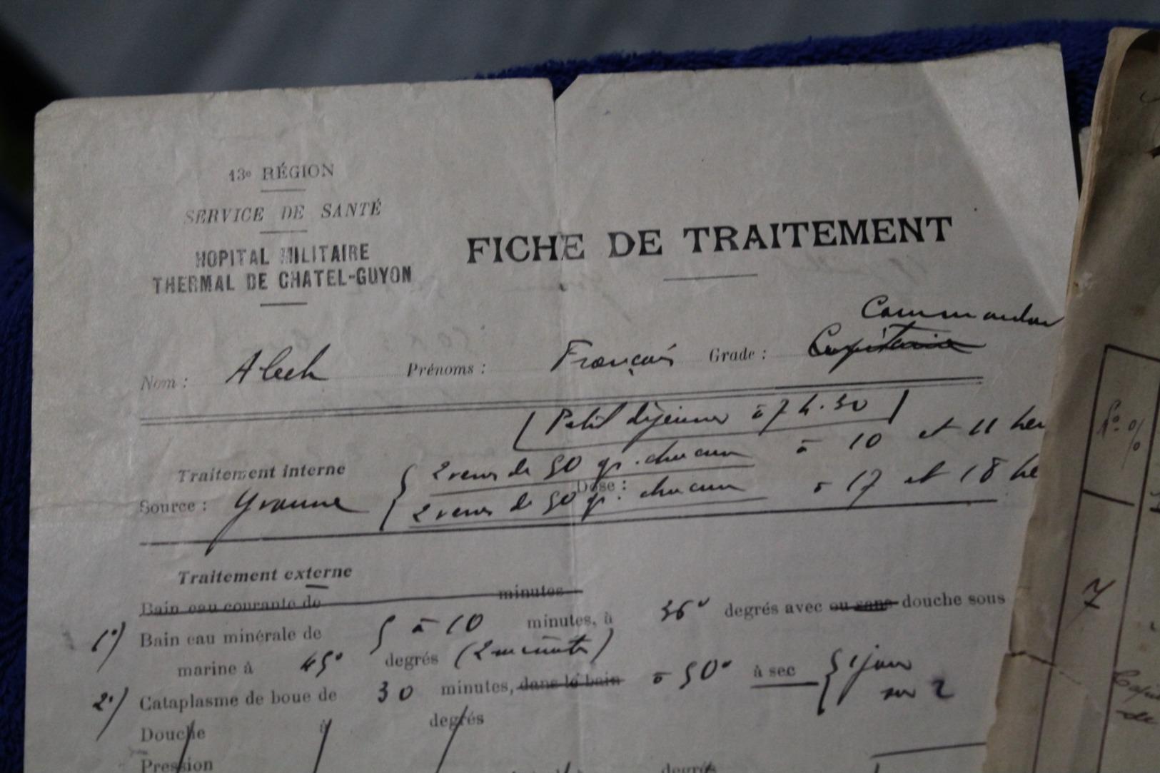 Petit Lot De Documents Administratifs D'un Capitaine De La Coloniale Années 30 - Documents