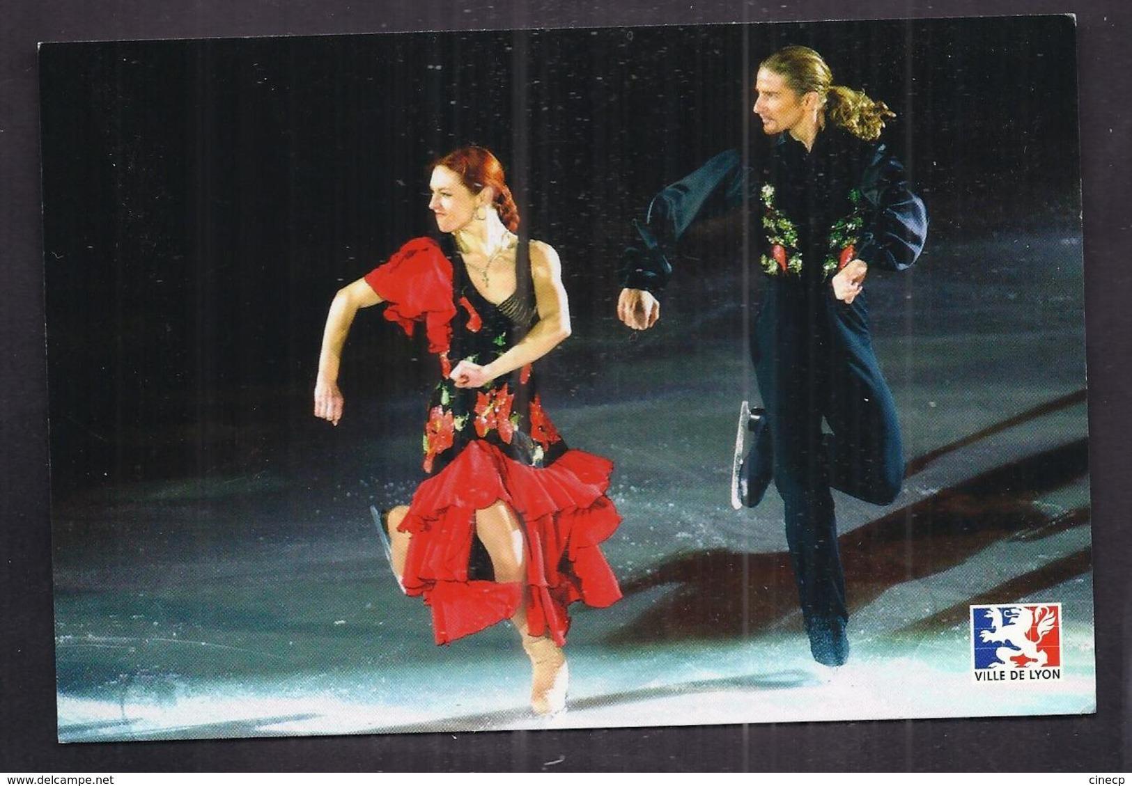 CPSM SPORT - DANSE SUR GLACE - Marina ANISSINA + Gwendal PEIZERAT Champion Olympique 2002 Jeux Olympiques - Patinage Artistique