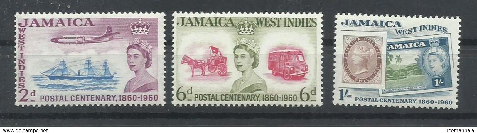 JAMAICA YVERT  185/87  MNH  ** - Jamaica (1962-...)