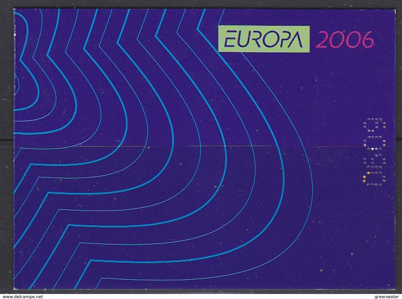 Europa Cept 2006 Bulgaria Booklet ** Mnh (42013) - Europa-CEPT